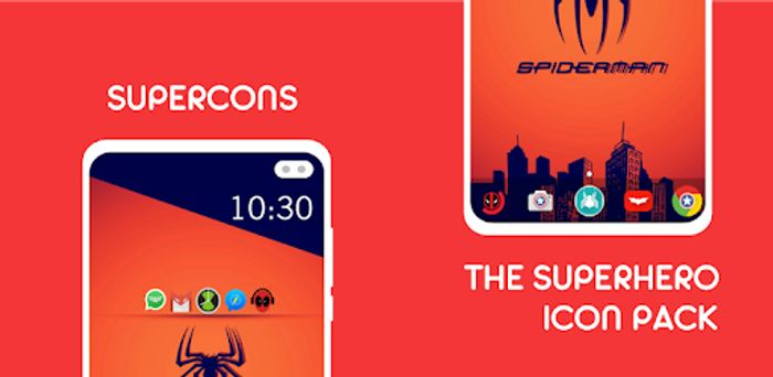Supercons - the Superhero Icon Pack