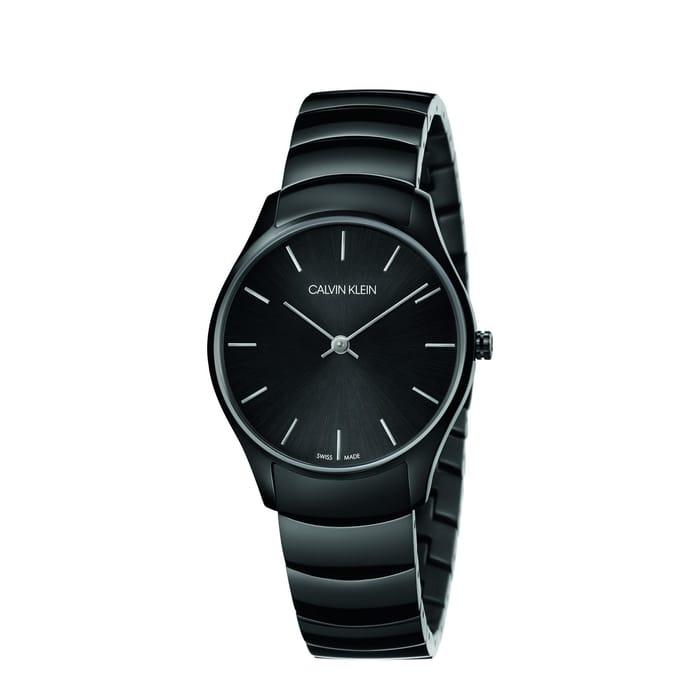 CALVIN KLEIN - Black 'Classic' Watch - K4D22441