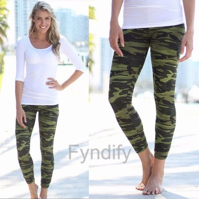 Free Camouflage Leggings (No size stated!)