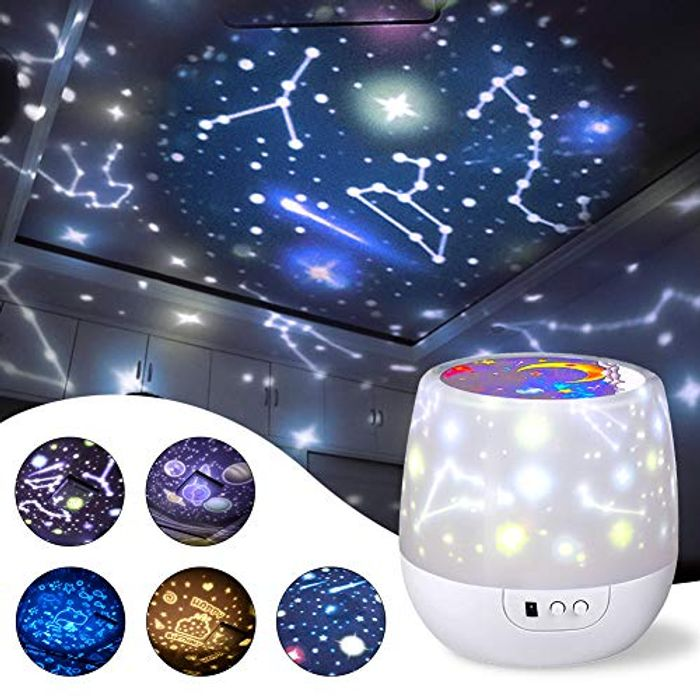 Star Night Light Universe Projector Lamp