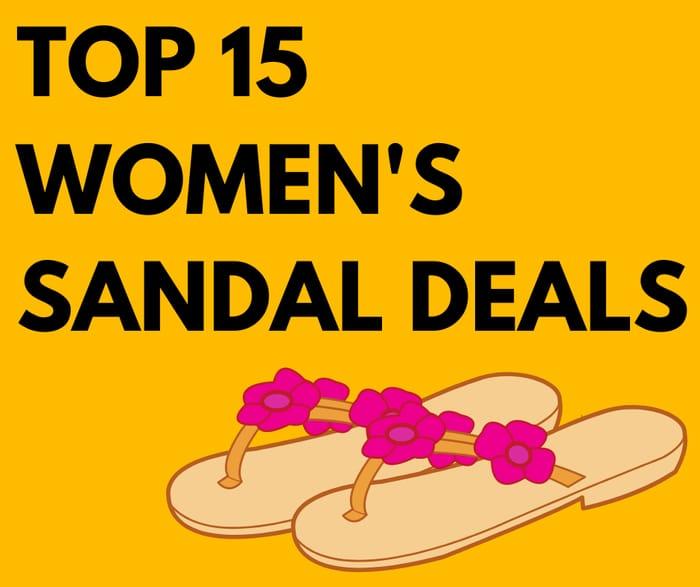 Top Sandals Deals Inc. FitFlop, UGG & Steve Madden - From £4!