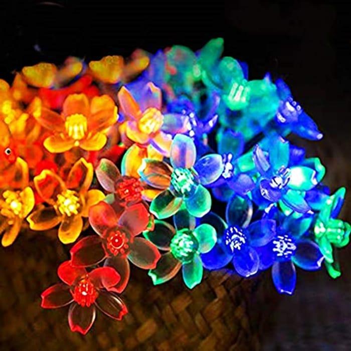 Deal Stack! Solar String Lights Garden, 30 LED