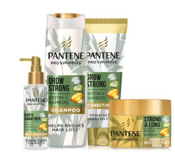 Pantene Grow Strong with Bamboo Bundle