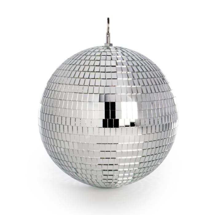 Mirror Disco Ball - 20cm - Only £7.99!