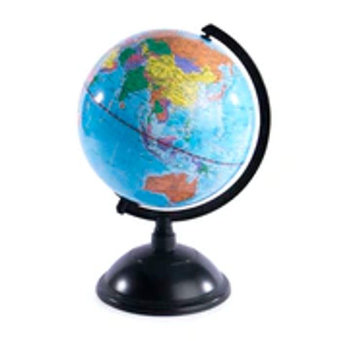 Rotating Colour Globe