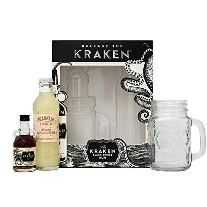 Kraken Rum Gift Set Down From £12.99 to £9.11