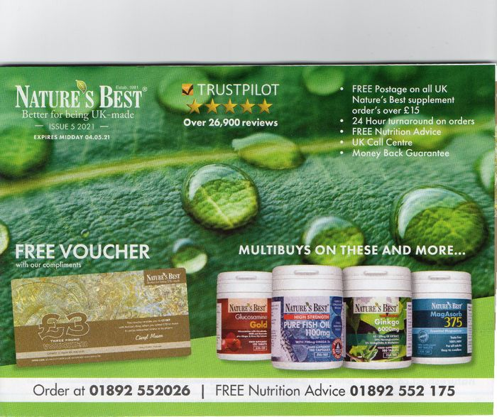 Free Nature's Best Catalogue