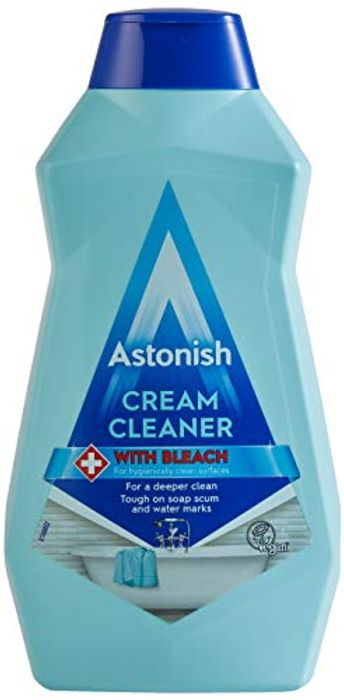 Astonish Cream Cleaner with Bleach 500ml - Only £1!