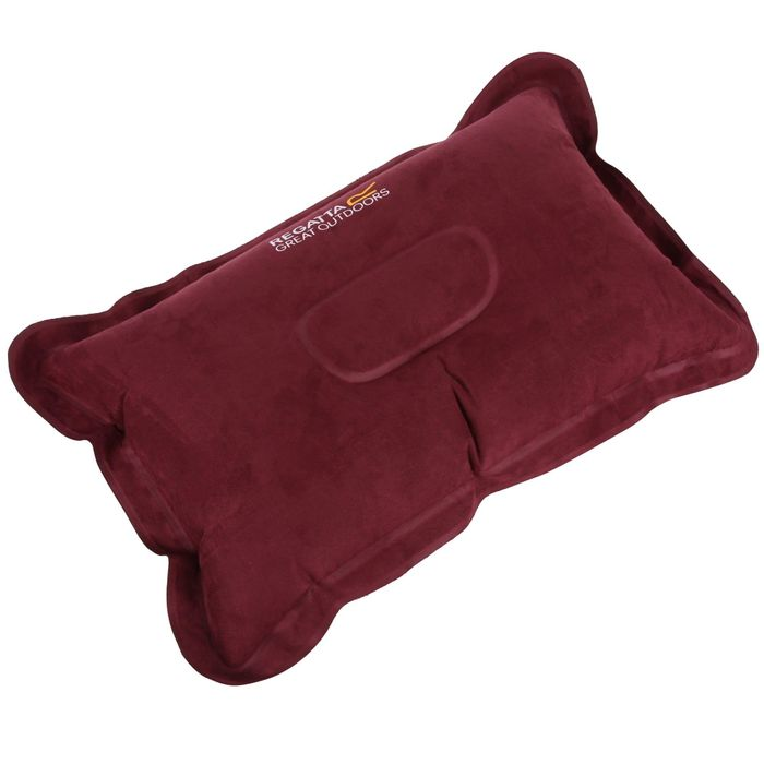 Regatta - Burgundy 'Inflatable' Camping Pillow