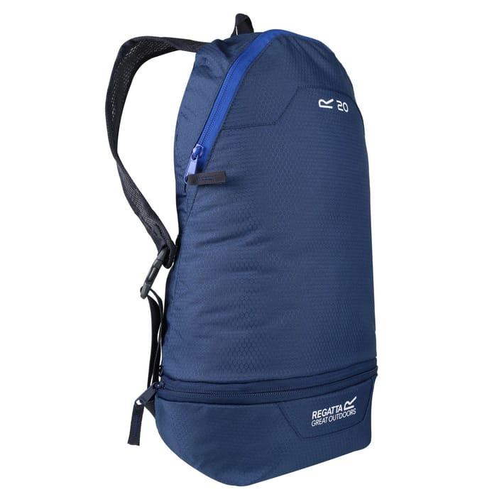 Regatta - Blue Packaway 'Hippack' Backpack