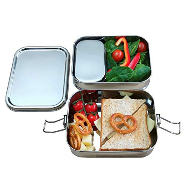Yes Sir! 3-in-1 Stainless Steel Waterproof Lunch Box with £20 off Coupon