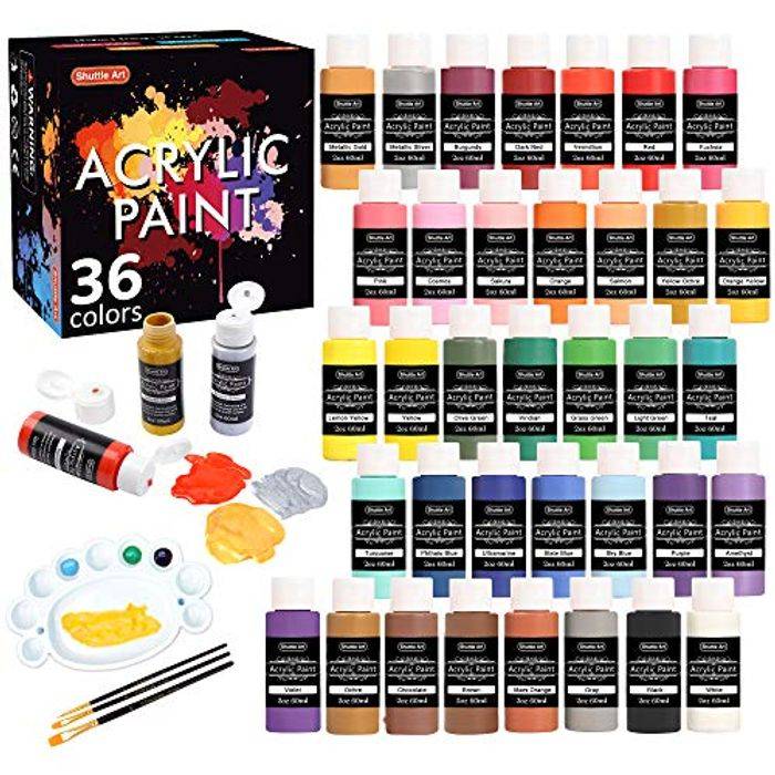 DEAL STACK - Acrylic Paint Set + 10% Coupon