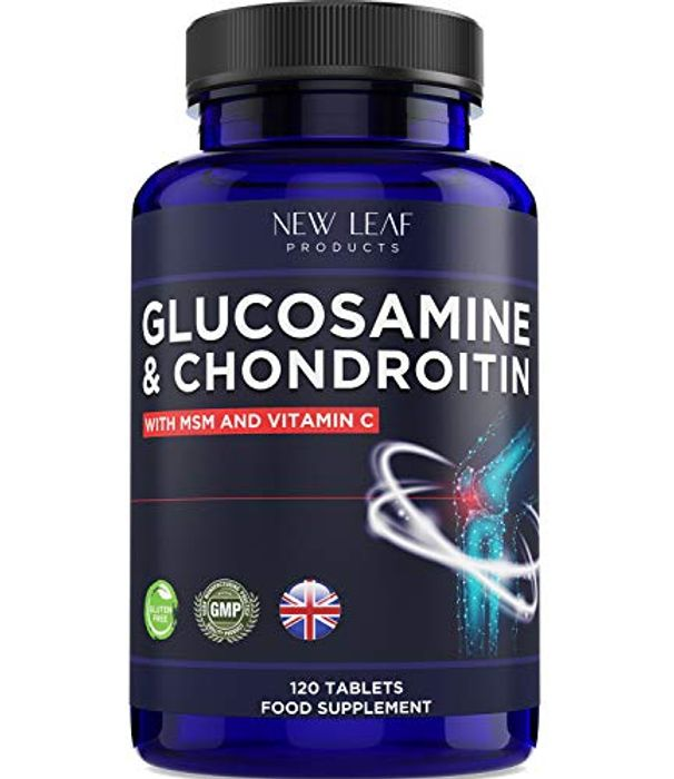 DEAL STACK - Glucosamine and Chondroitin MSM - 120 Tablets + 10% Coupon