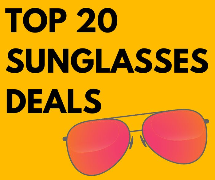 Top Sunglasses Deals Inc. Michael Kors, Oakley & Radley - From £2!