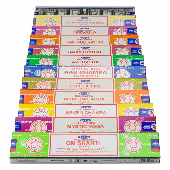 Incense Variety Box Sets Reduced Plus Buy 3 Sets Get 1 Free!