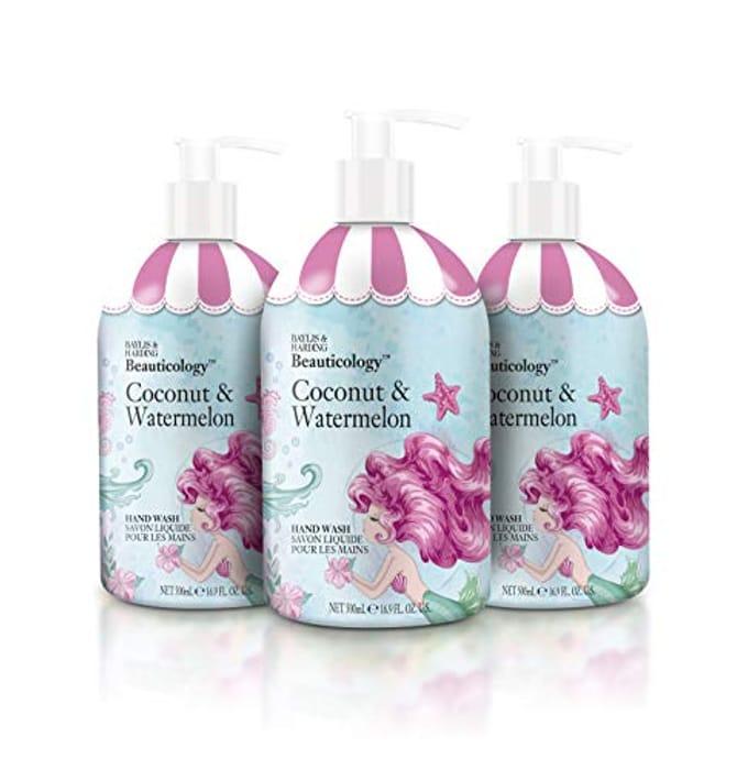 Pack of 3 Baylis & Harding Beauticology Mermaid Hand Wash 500 Ml