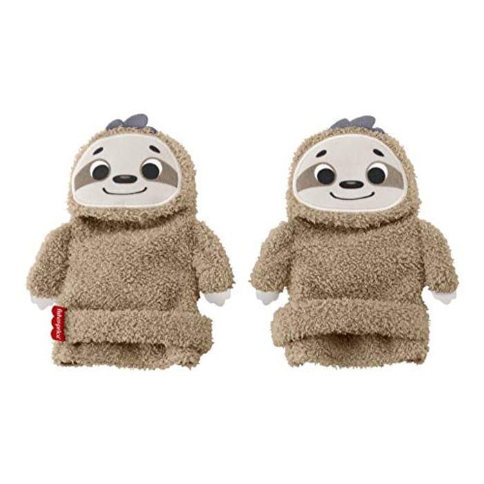Cute 'Fisher Price' Baby Sloth ACTIVITY SOCKS