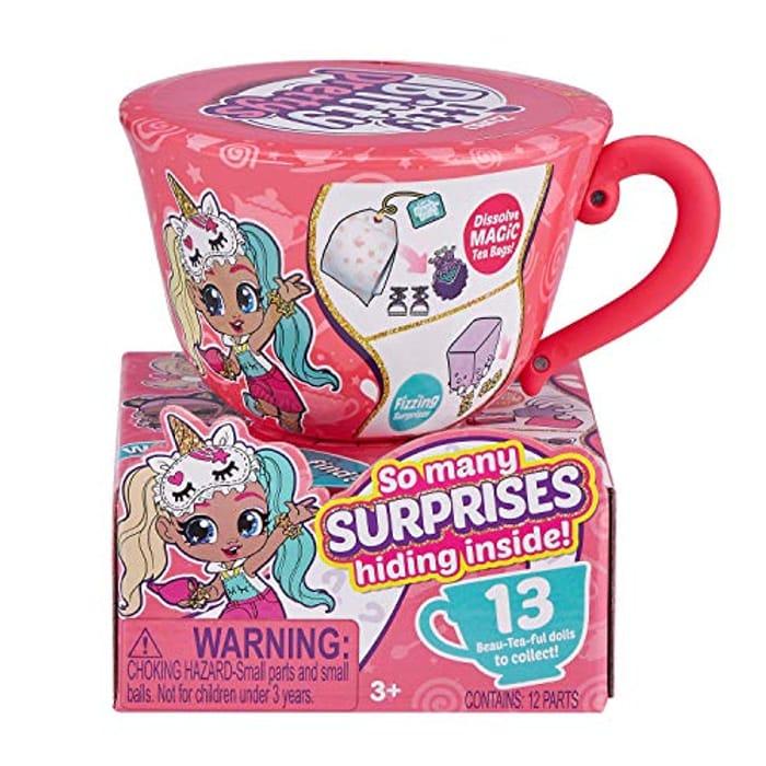 ZURU ITTY BITTY PRETTYS 9701 Small Tea Cup, Pink