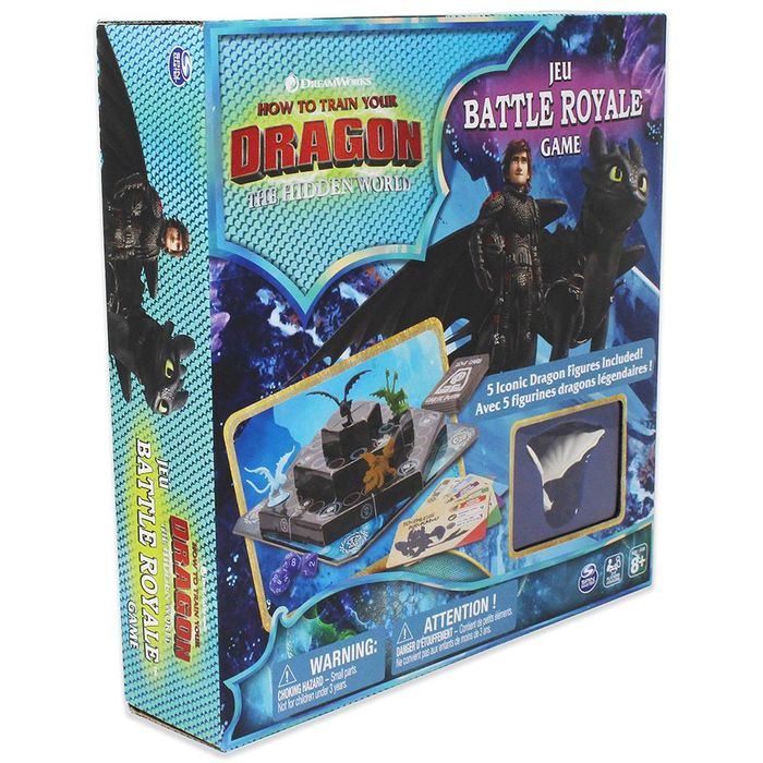 How to Train Your Dragon: The Hidden World Jeu Battle Royale Game