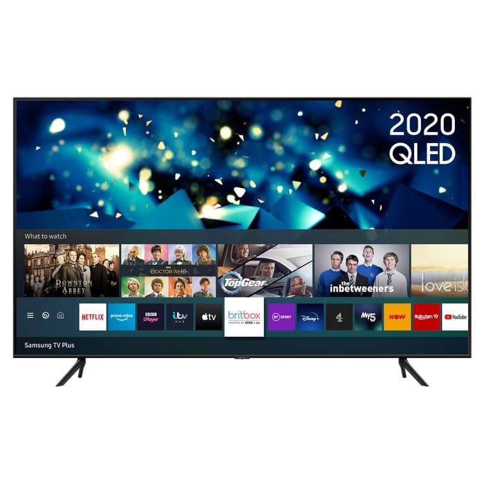 "*SAVE over £1700* Samsung 85"" HDR 4K QLED TV with Alexa, Google & Apple TV App"