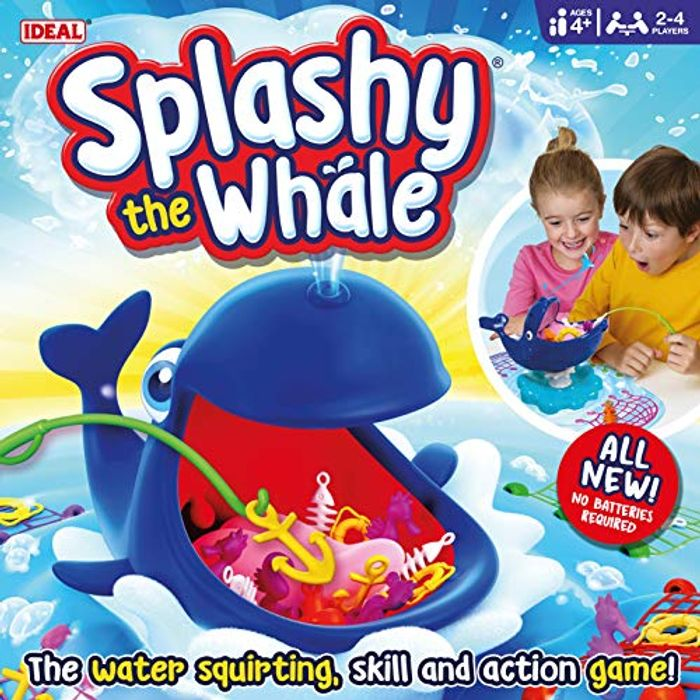 Ideal 10652 Splashy the Whale Action Game