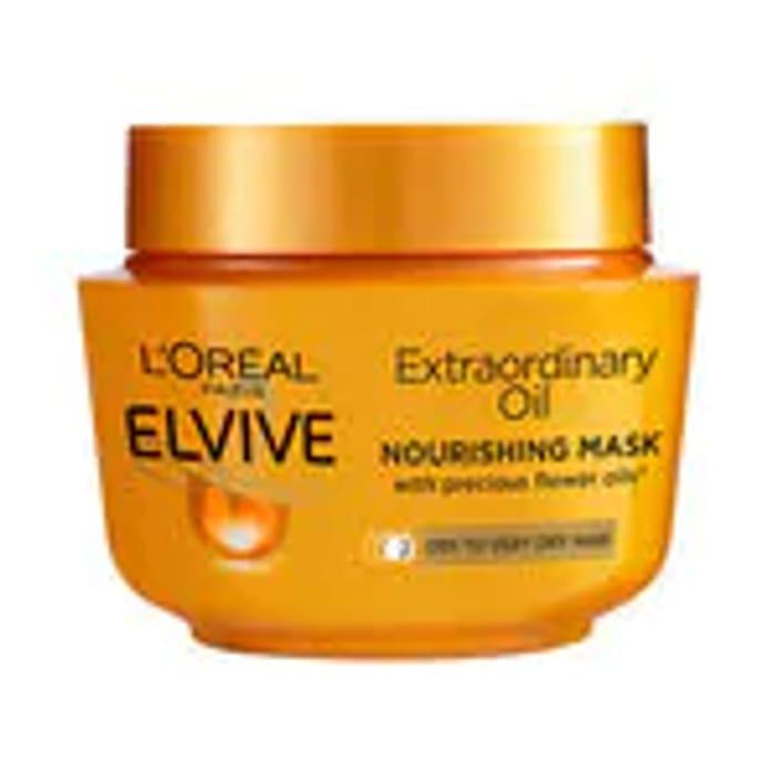 L'Oreal Elvive Extraordinary Oil Masque Pot 300ml