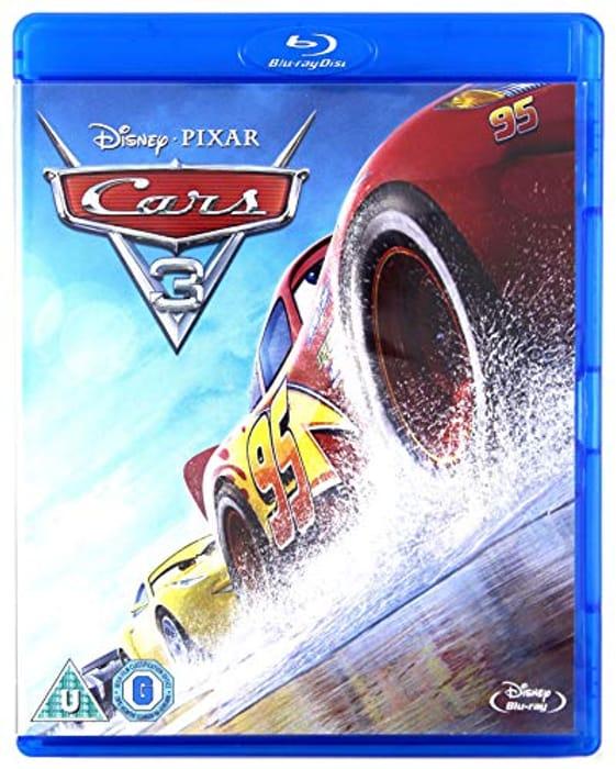 Cars 3 [Blu-Ray] [2017] [Region Free] - Only £3.18!