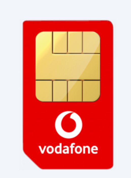 Vodafone 100GB Data + Unlimited Mins & Texts £11p/m with Cashback for 1 Year SIM