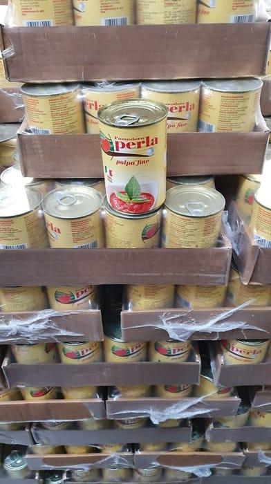 12 X Perla Chopped Tomatoes 400g