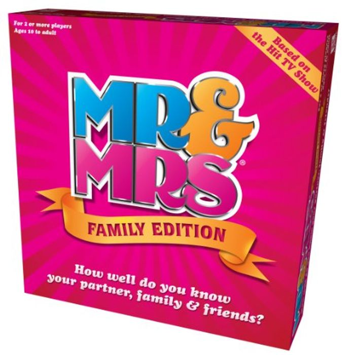 BEST EVER PRICE Mr & Mrs Family Edition Game