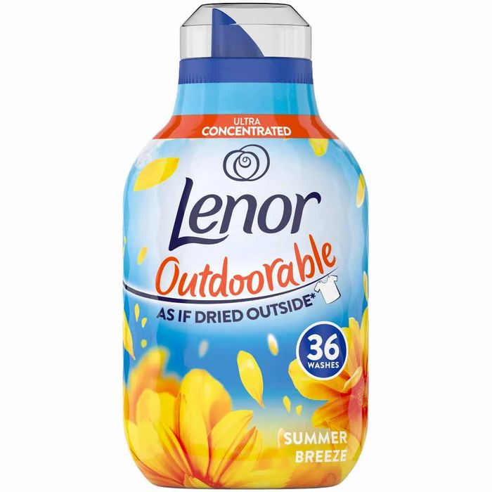 Lenor Outdoorable Fabric Conditioner Summer Breeze 504ml
