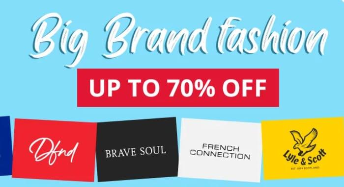 MandM Direct - Up To 70% Off Big Brand Fashion Inc Adidas & Lyle & Scott