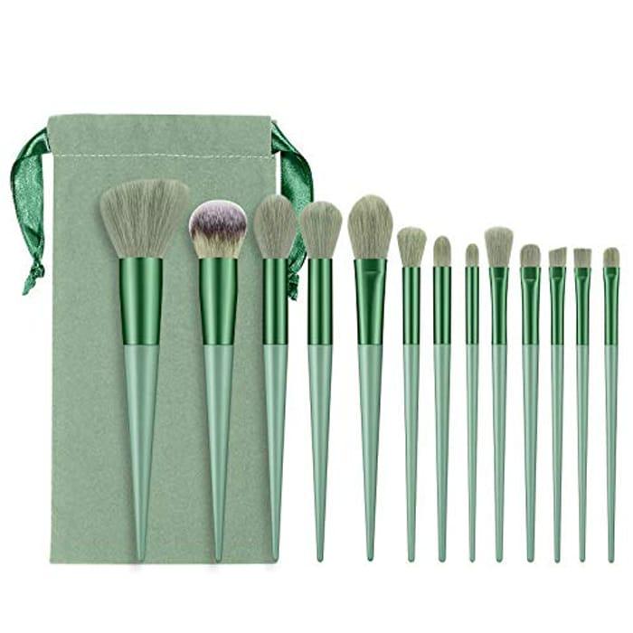 13pcs Makeup Brush Set with Bag
