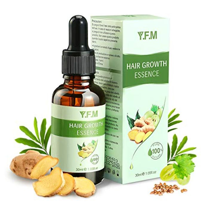 Y.F.M Pure Natural Anti-Hair Loss Serum - Only £2.39!