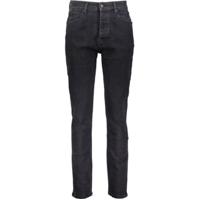 CALVIN KLEIN JEANS Black Stone Wash Narrow Fit Jeans