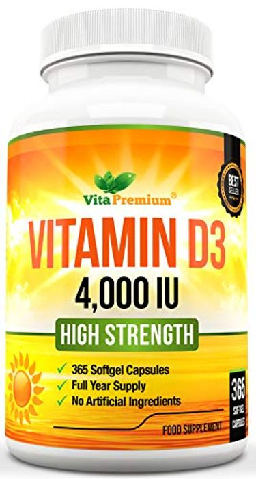 Vitamin D 4,000 IU, Maximum Strength Vitamin D3