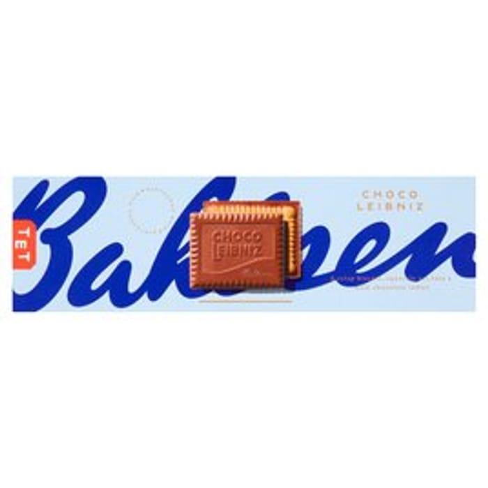 Bahlsen Choco Leibniz Milk Chocolate Biscuits 125g - Only £1!