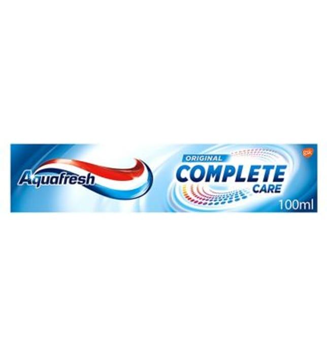 Aquafresh Toothpaste Original Complete Care 100ml