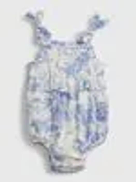 Baby Floral Bubble Bodysuit