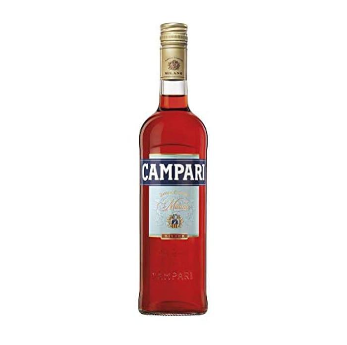 Campari Bitter 70 Cl, 25% ABV - Italian Spirit Aperitif -