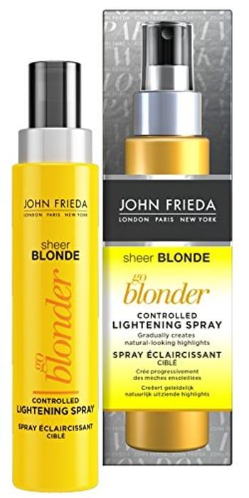 John Frieda Lightening Spray for Blonde Hair, 100ml,