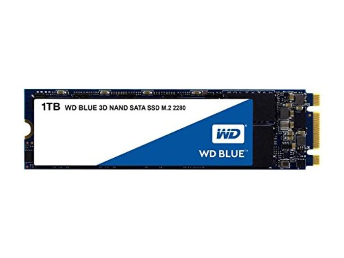 WD Blue 3D NAND Internal SSD M.2 SATA - 1 TB £79.99 at Amazon