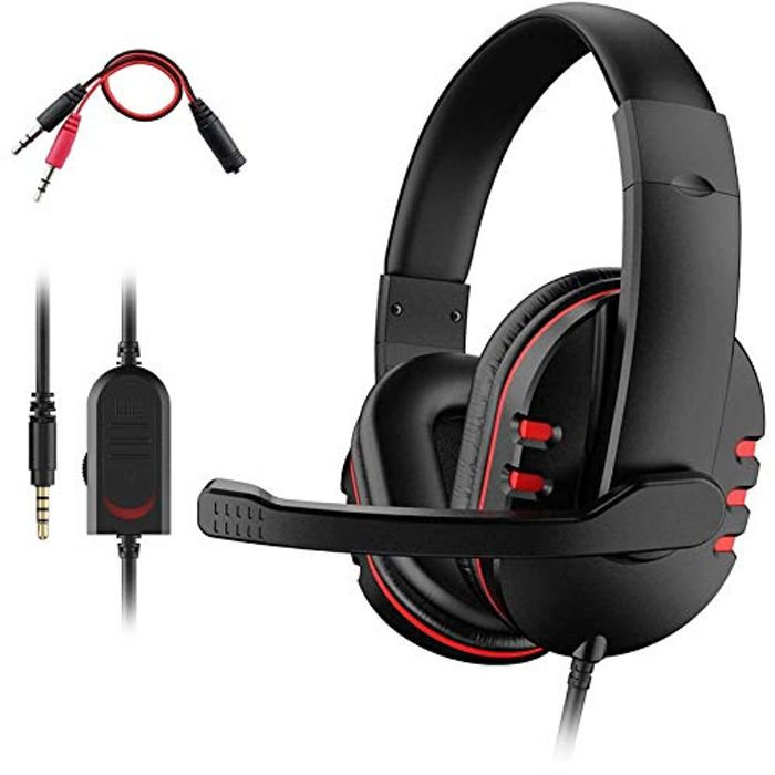 PS4 Headset, Dhaose Gaming Headset for Xbox One