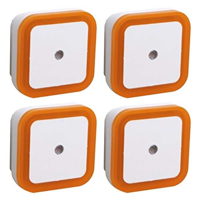 4 Pack Plug in Sensor LED Night Lights