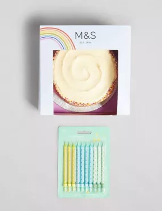 £5 off Celebration Cake Orders over £35 at Marks & Spencer