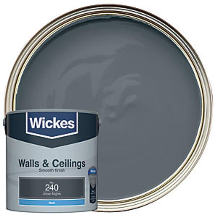 Wickes Urban Nights - No.240 Vinyl Matt Emulsion Paint - 2.5L