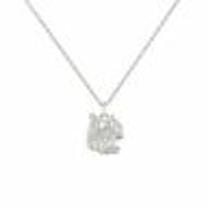 Revere Sterling Silver Hummingbird Pendant Necklace