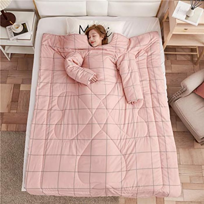 JessyHome Quilt with Sleeves Thick - Only £20!
