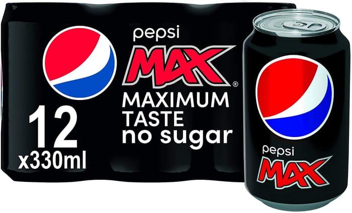 Pepsi Max, 12 X 330ml