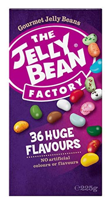 The Jelly Bean Factory 36 Huge Flavours 225 G Box